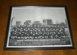 1936 DUQUESNE UNIVERSITY FOOTBALL TEAM FRAMED PRINT