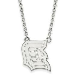 925 Sterling Silver Laser-cut Duquesne University Large Pend