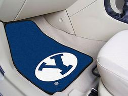 Fanmats College NCAA automobile 17 inch x27 inch nylon 2-pc
