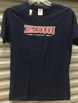 DU DUQUESNE University DUKES  T-Shirt NEW Men's Medium Fre