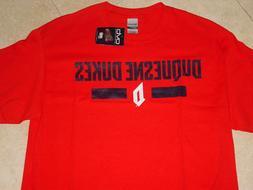 DU  DUQUESNE University DUKES T-Shirt NWT NEW  sz......  MED