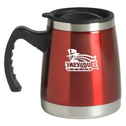 Duquesne University - 16-ounce Squat Travel Mug Tumbler - Re