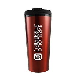 Duquesne University -16 oz. Travel Mug Tumbler-Red