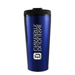 Duquesne University -16 oz. Travel Mug Tumbler-Blue