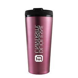 Duquesne University -16 oz. Travel Mug Tumbler-Pink