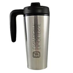 Duquesne University -16 oz. Travel Mug Tumbler with Handle-S