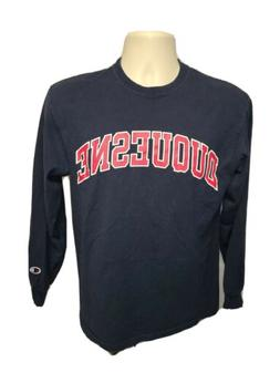 Duquesne University Adult Medium Blue Long Sleeve TShirt