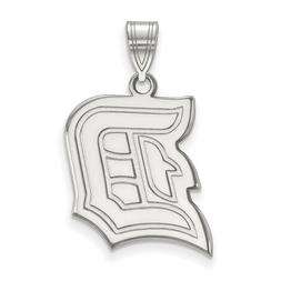 Duquesne University Dukes School Letter Logo Pendant in Ster