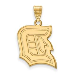 Duquesne University Dukes School Letter Logo Pendant in 14k