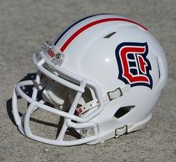Duquesne University Dukes SPEED style mini football helmet n
