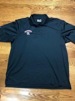 Duquesne University Polo Shirt Black Men's Under Armour Sp