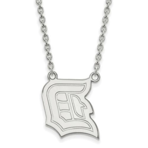 10k white gold duquesne university large pendant