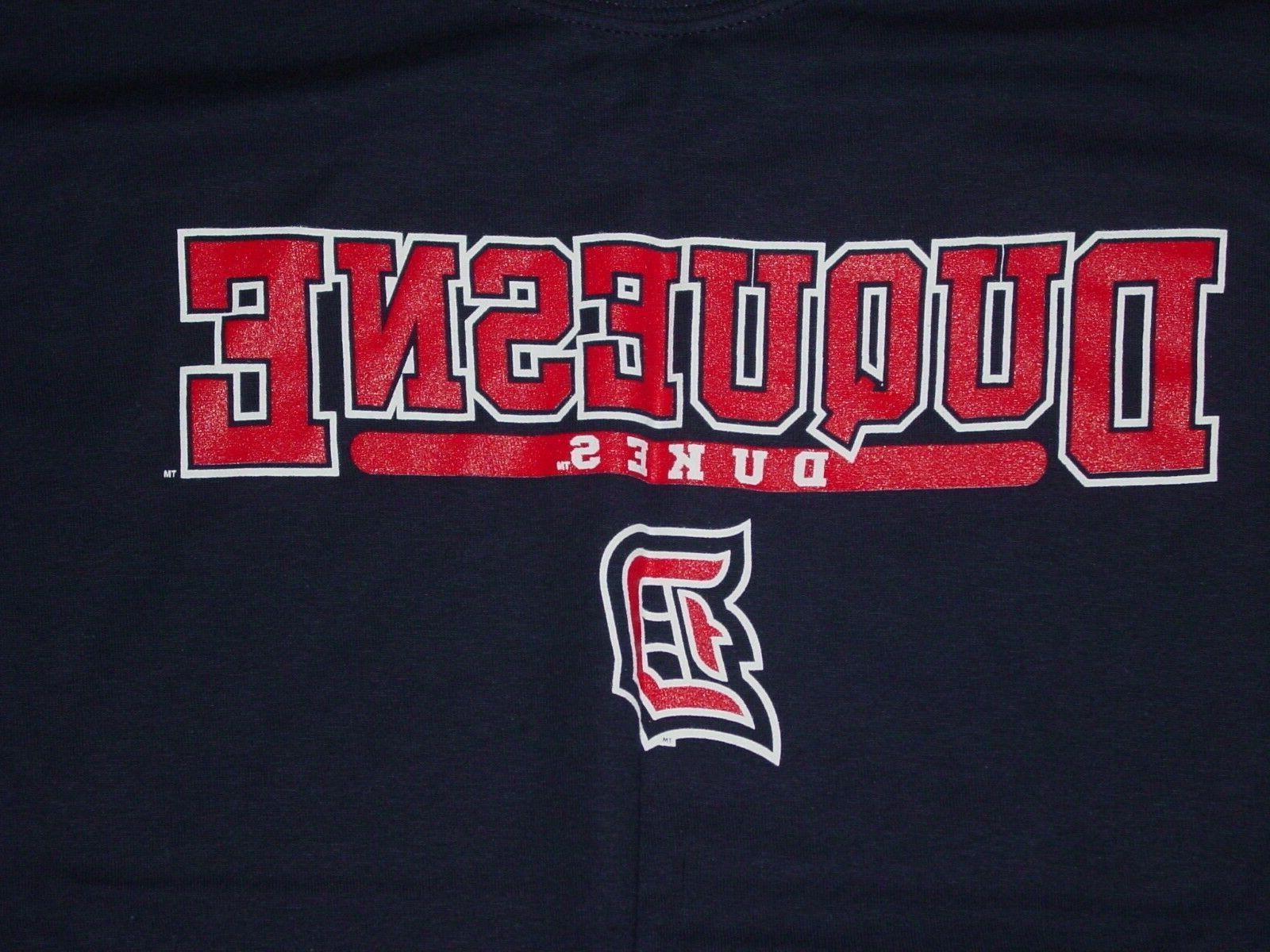 DU DUQUESNE DUKES T-Shirt NEW - ... MEDIUM