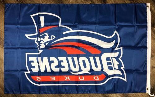 Duquesne 3x5 School Logo Banner Man-Cave