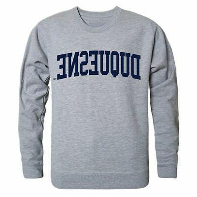 duquesne university game day crewneck pullover sweatshirt