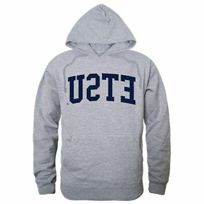 duquesne university game day hoodie sweatshirt heather