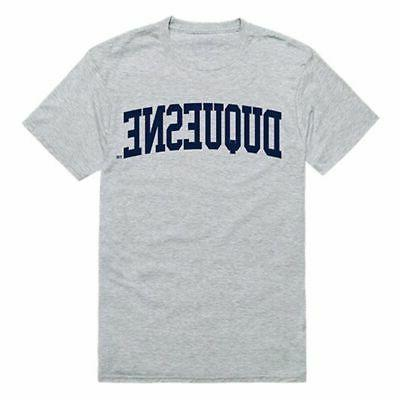 duquesne university game day t shirt heather