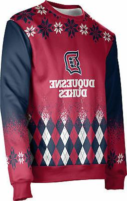 ProSphere Men's Duquesne University Ugly Holiday Jolly Sweat