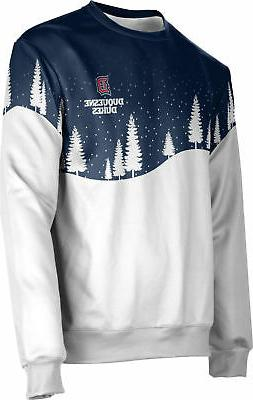 ProSphere Men's Duquesne University Ugly Holiday Solstice Sw