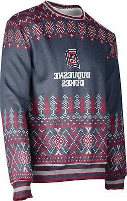 ProSphere Men's Duquesne University Ugly Holiday Winter Swea