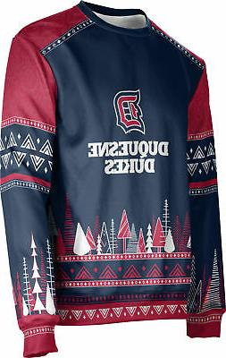 ProSphere Men's Duquesne University Ugly Holiday Wonderland