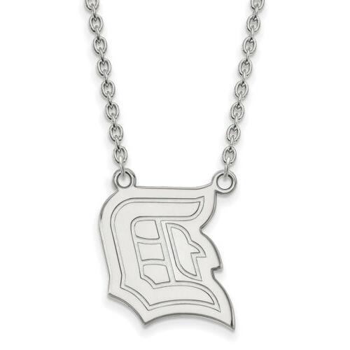 14k white gold duquesne university large pendant