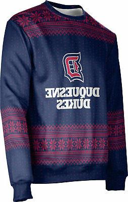 ProSphere Unisex Duquesne University Ugly Holiday Chill Swea