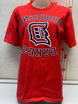 Vintage CHAMPION Duquesne University Dukes TShirt Sz S